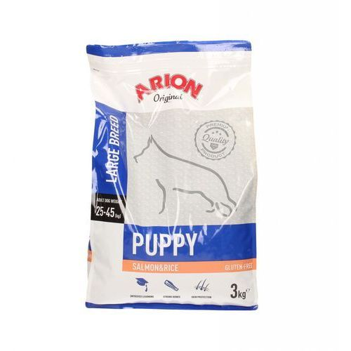 ARION Original Puppy Large Salmon & Rice 3kg - 3kg, 7515