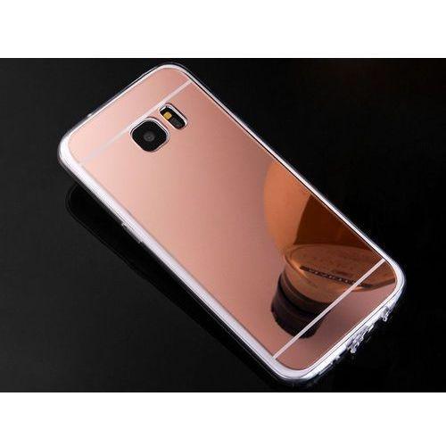 Etui lustrzane mirror gel do Samsung Galaxy S7 Różowe - Różowy