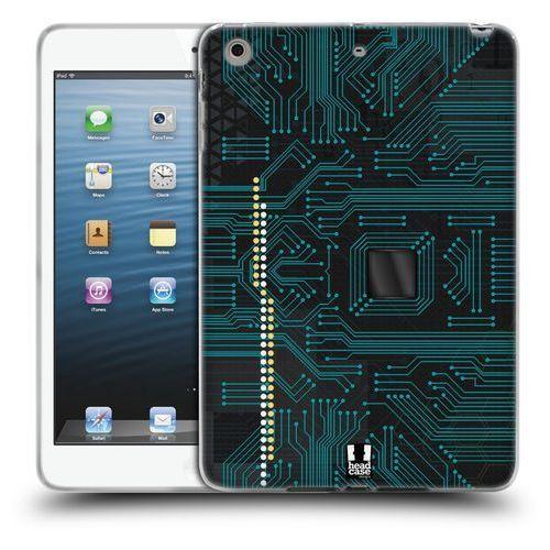 Etui silikonowe na tablet - Circuit Boards BLACK, kolor czarny