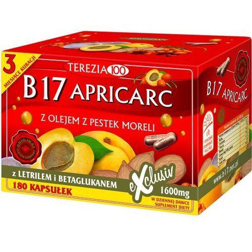 B17 APRICARC – Witamina B17, Letril, Amigdalina - 180 kaps. z kategorii Bakalie, orzechy, wiórki