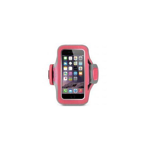 Etui Opaska na ramię Belkin Slim-Fit Plus iPhone 6 / 6s, różowe (Futerał telefoniczny)
