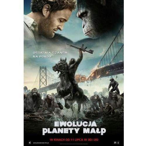 Ewolucja Planety Małp (Blu-Ray) - Matta Reevesa. DARMOWA DOSTAWA DO KIOSKU RUCHU OD 24,99ZŁ (5903570071461)