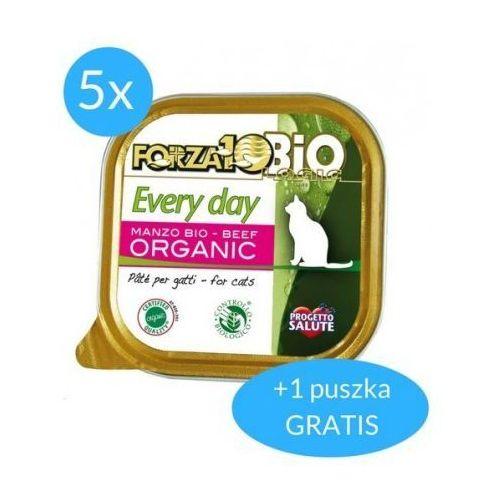 Forza10 Every Day dla kota 5x100g + 100g GRATIS (600g): smak - wołowina DOSTAWA 24h GRATIS od 99zł (8020245090019)