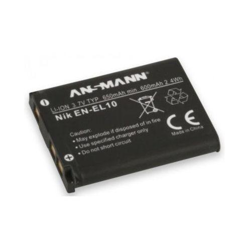 Akumulator ANSMANN do Nikon A-Nik EN EL 10 (650 mAh)