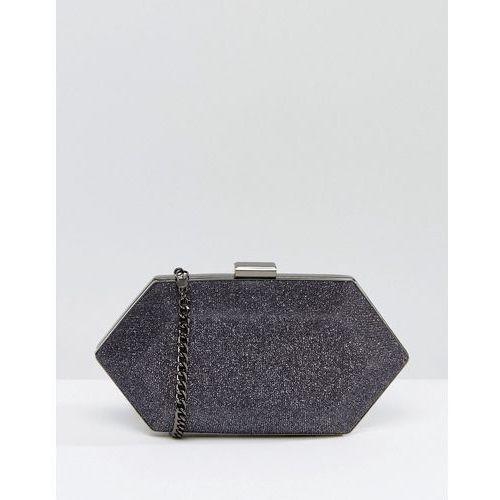 Miss KG Jewel Structured Clutch Bag - Grey