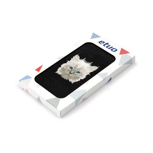 Samsung Galaxy S5 Mini - etui na telefon Flip Fantastic- kotek, ETSM119FLFCEF016000