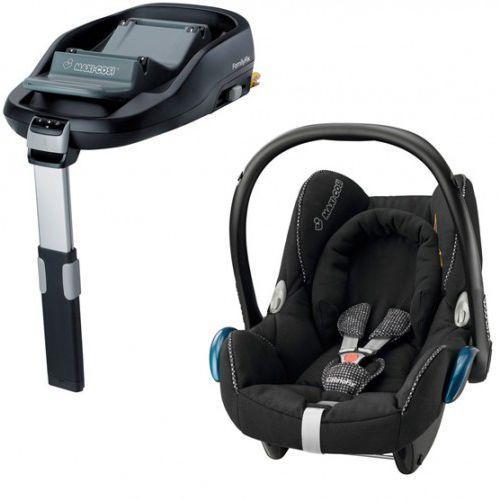 Fotelik maxi-cosi cabriofix + baza familyfix digital black marki Maxi cosi