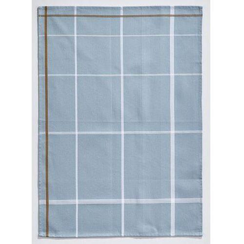 Ściereczka do naczyń Zone 70 x 50 cm niebieska w białą kratkę