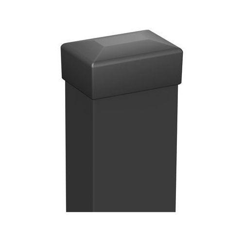 Polargos Słupek ogrodzeniowy 6 x 4 x 200 cm antracytowy (5902360113206)