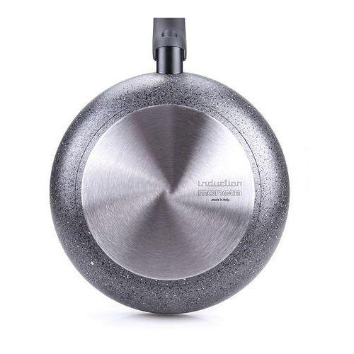 Moneta Mo - patelnia 24cm greystone, indukcja (8003703153839)