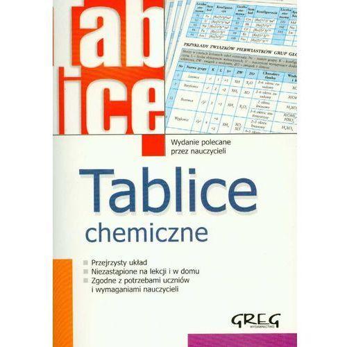 Tablice chemiczne, oprawa miękka