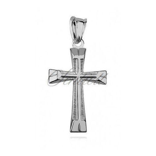 Srebrny (pr.925) krzyżyk - k024 marki Sentiell