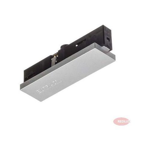 EUTRAC zasilanie stałe do 3- faz.szynoprzewodu srebrnoszara 230V, REDLUX R11348