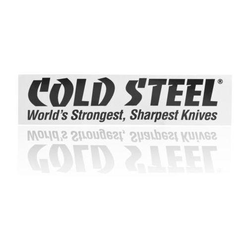 Naklejka na zderzak samochodowy Cold Steel Bumper Black on White (PRCSSR.1), kup u jednego z partnerów