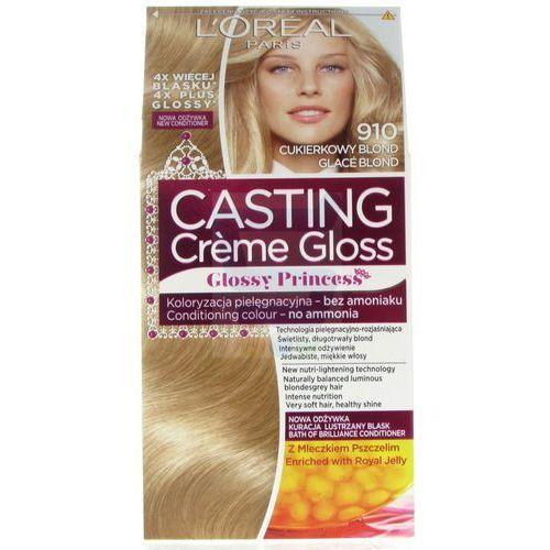 Loreal Paris Casting Creme Gloss Glossy Princess Krem koloryzujący do włosów bez amoniaku Cukierkowy Blond nr 910