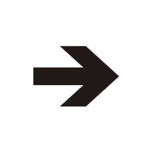 Strzałka pozioma (czarny/biały) marki Top design - OKAZJE