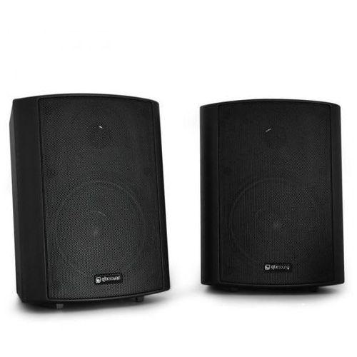 Qtx Para głośników ściennych bc5a czarne 30w rms