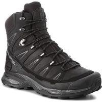 Trekkingi - x ultra trek gtx gore-tex 404630 31 v0 black/black/magnet marki Salomon