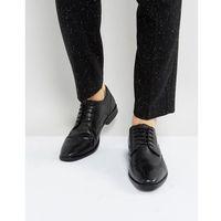 smart oxford brogues in black leather - black, Ben sherman