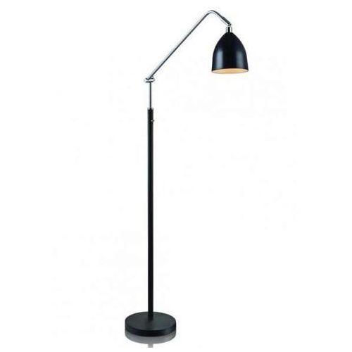 LAMPA podłogowa FREDRIKSHAMN 105023 Markslojd stojąca OPRAWA metalowa czarna, 105023