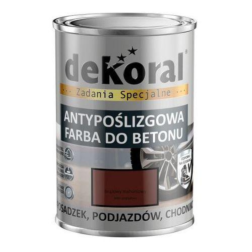 Dekoral Emalia do podłóg akrylit b brąz mahoniowy 0,75 l
