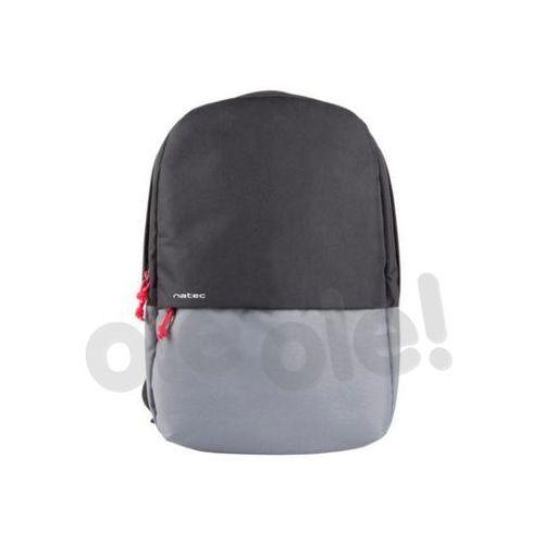 "Plecak laptop gaur black grey 15.6"" marki Natec"