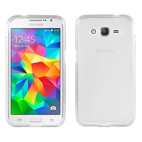 Etui silikonowe FLEXmat do Samsung Grand Prime G530 - Biały