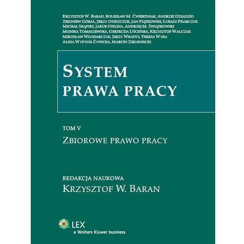 System prawa pracy. TOM V. Zbiorowe prawo pracy [PRZEDSPRZEDAŻ] (1208 str.)