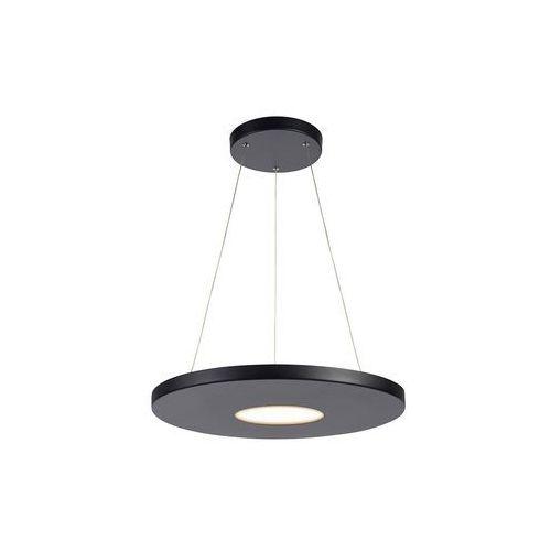 Markslojd plate 107589 lampa wisząca zwis oprawa 1x18w led czarna