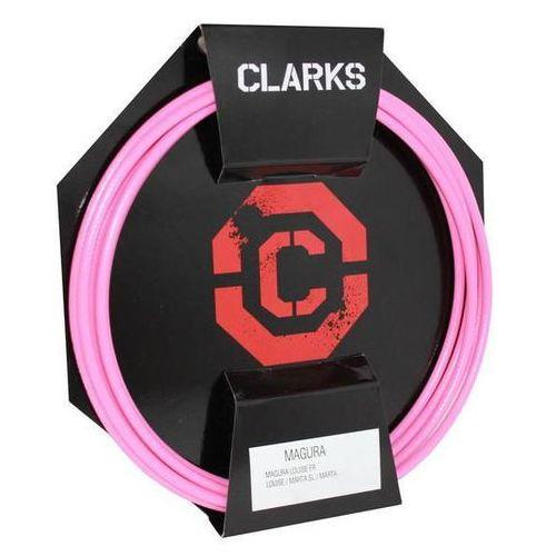 Pancerz do hamulca hydraulicznego clark's magura przód + tył różowy marki Clarks