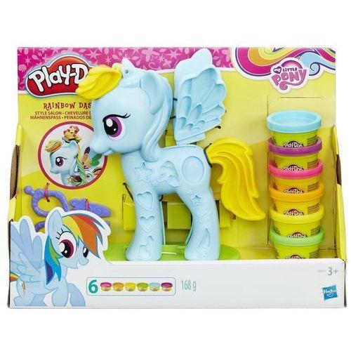 Hasbro Playdoh salon fryzjerski rainbow (5010994915469)
