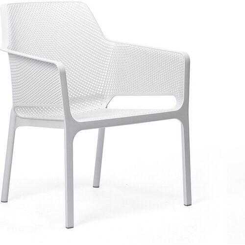 Krzesło ogrodowe Net Relax białe (8010352327009)
