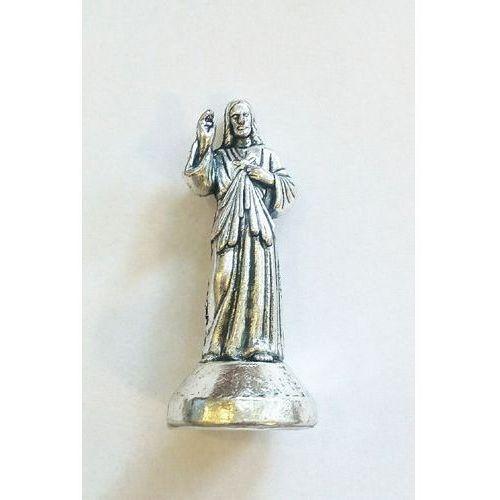Figurka Jezus Miłosierny (metalowa)