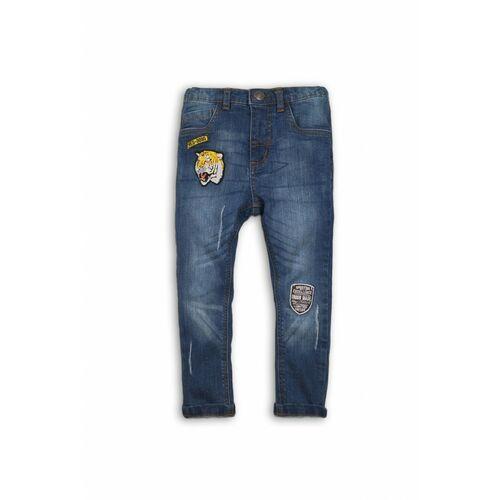 Minoti Spodnie chłopięce jeansowe 1l34a6