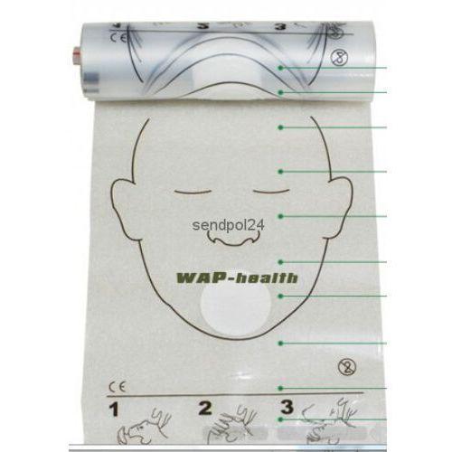 Sendpol Maski do sztucznego oddychania z filtrem 50 szt w rolce