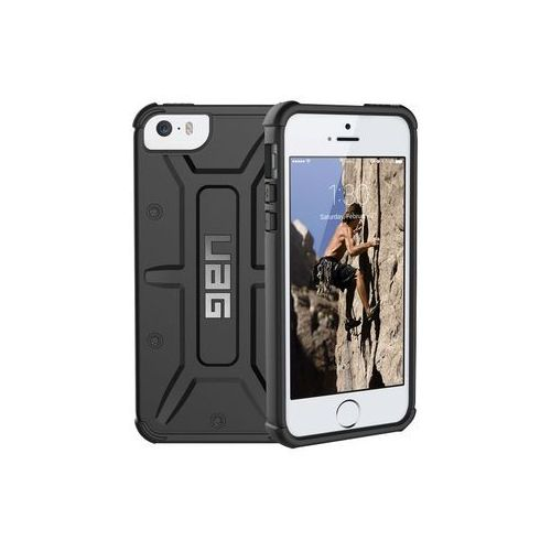 Etui urban armor gear iphone 5/5s/se black - czarny marki Uag