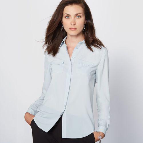 Bluzka koszulowa z krepy, Anne weyburn