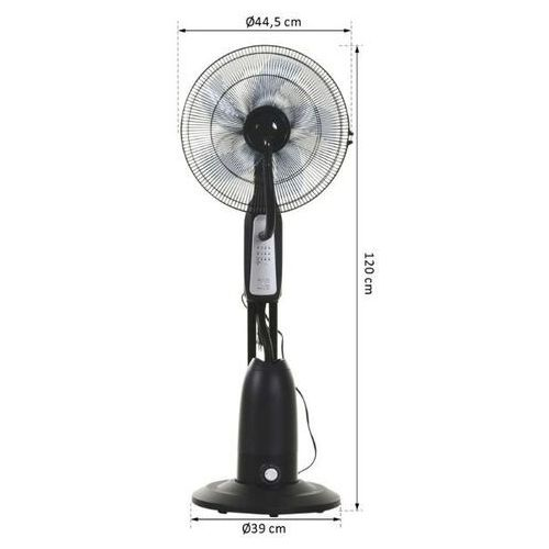 Wentylator powietrza z mgiełka + pilot marki Aosom