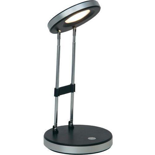 Lampa stołowa venedig g92926/06, led wbudowany na stałe x 1, 3.3 w, 230 v, (Øxw) 12 cmx36 cm, czarny marki Brilliant