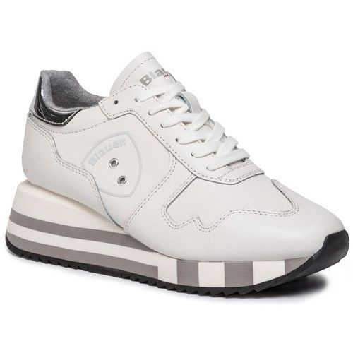 Blauer Sneakersy - 9fcharlotte01/lea white