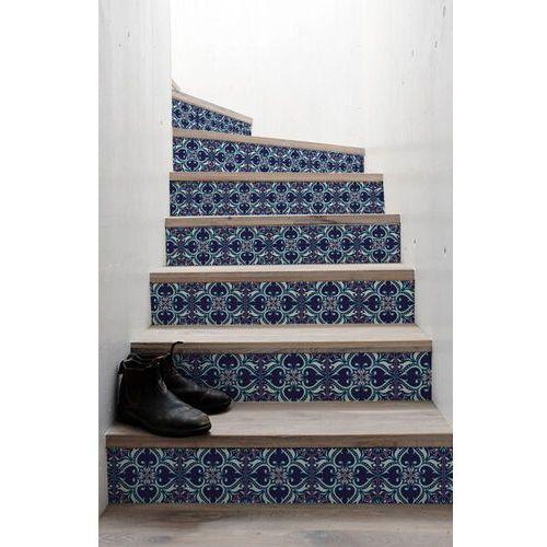 Naklejki na schody Bajeczne Orientalne Kwiaty