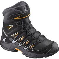 salomon buty dziecięce xa pro 3d winter ts cswp j black/india ink 32 marki Salomon
