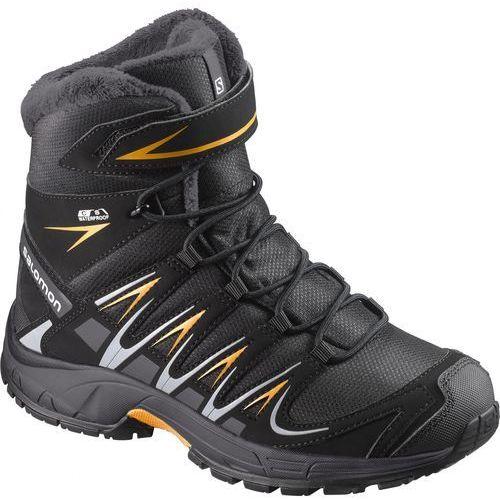 salomon buty dziecięce xa pro 3d winter ts cswp j black/india ink 31 marki Salomon