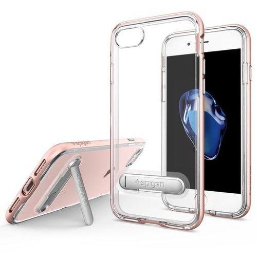 Spigen Crystal Hybrid iPhone 7 różowy złoty, kolor różowy
