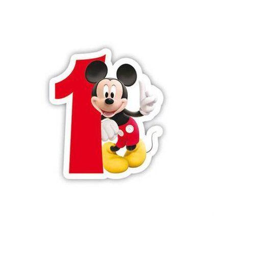 Świeczka cyferka jedynka 1 Myszka Mickey - 1 szt. (5201184831496)
