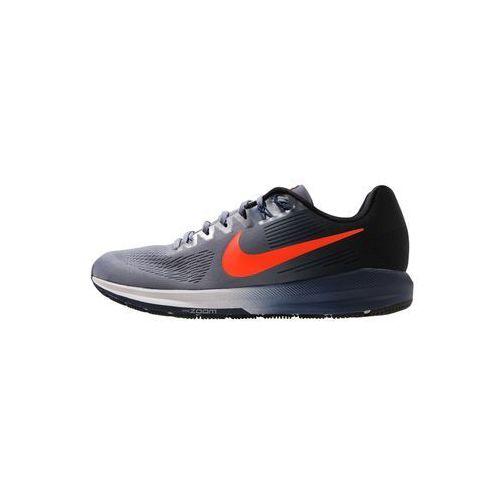 Nike Performance AIR ZOOM STRUCTURE 21 Obuwie do biegania Stabilność dark sky blue/total crimson/black/navy/wolf grey (0888411718635)
