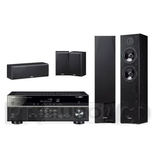 Yamaha MusicCast RX-V485 (czarny), NS-F51/NS-P51 (czarny) (0000001171940)