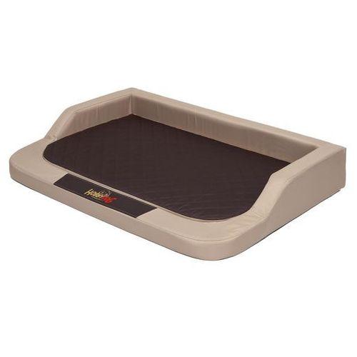 Hobbydog Xl legowisko medico standard - beż z brązowym materacem