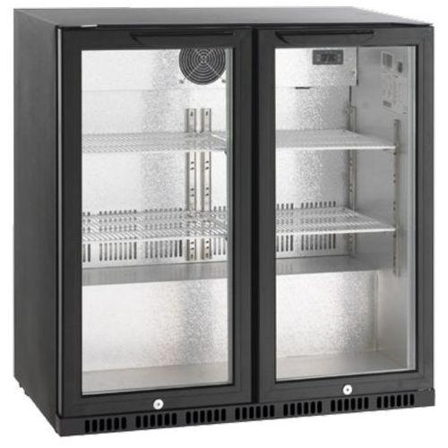 Barowa szafa chłodnicza   205L   198W   865x520x(H)865mm