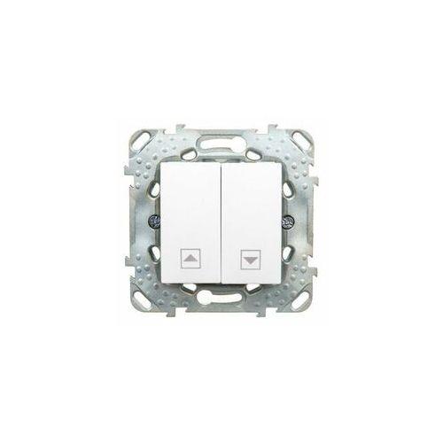 unica plus łącznik żaluzjowy - biel polarna mgu50.208.18z marki Schneider